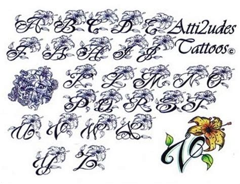tattoo fonts girly 17 best images about letters on lettering