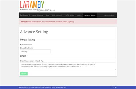 ebay affiliate laramby amazon and ebay affiliate php script by grandong