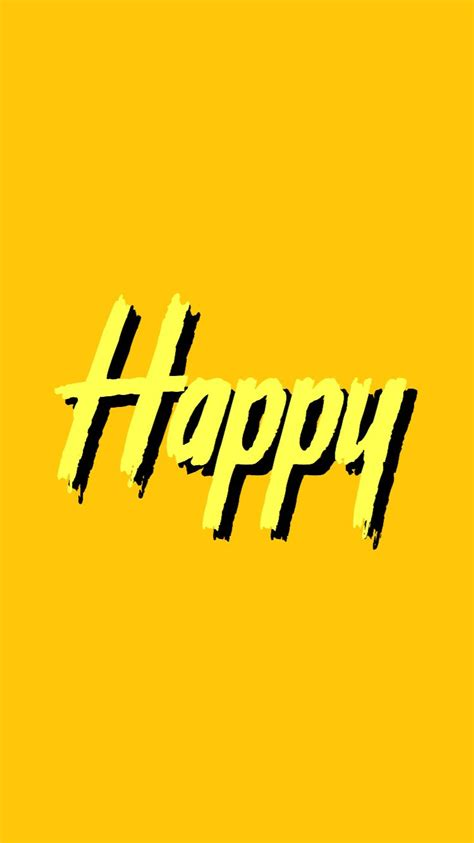 happy wallpaper tumblr aesthetic yellow