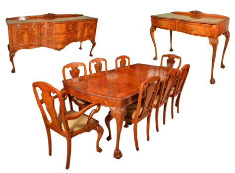 table 8 chairs vintage dining suite dining table 8 chairs 2 sideboards