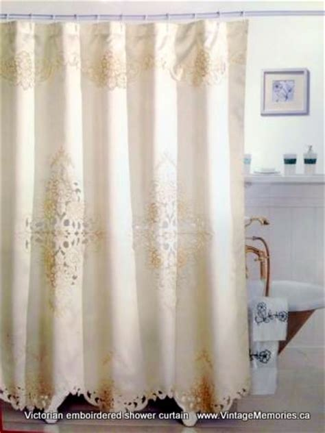 victorian style shower curtains vintage memories other linens