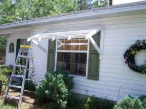 Outdoor Awnings For Windows by Best 25 Window Awnings Ideas On Diy Exterior