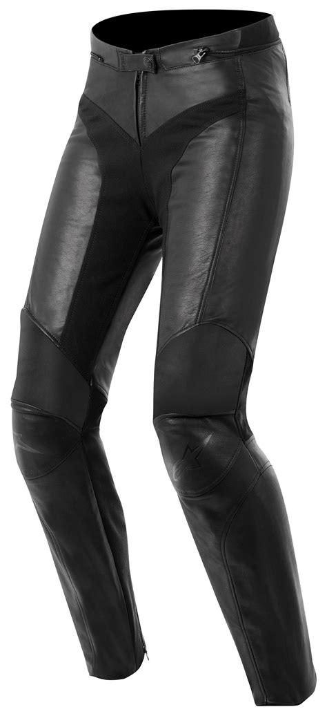 motorcycle pants alpinestars women s vika leather pants revzilla
