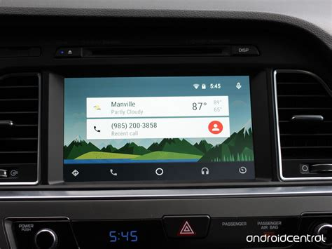 android car taking a look at android auto on the 2015 hyundai sonata android central