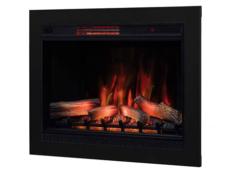 fireplace insert trim kit classicflame classicflame 33 in 3d spectrafire plus infrared electric