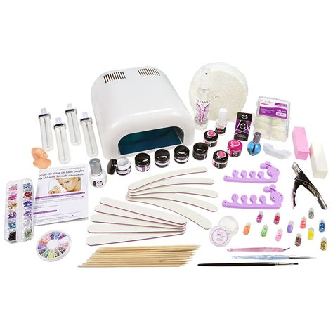Kit Faux Ongles Gel Uv by Kit Xl Manucure Faux Ongles 36w Gel Uv 3 233 Manucure