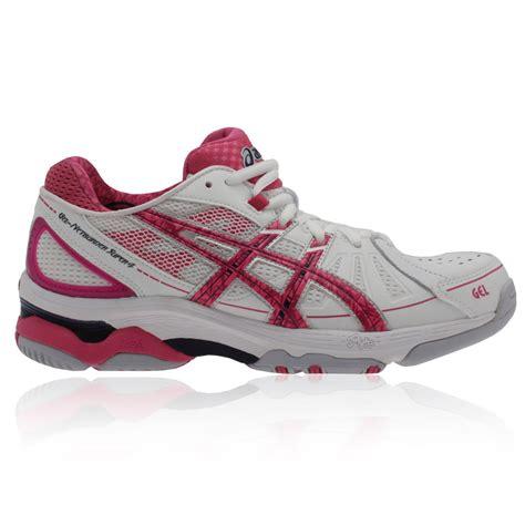 chs sports womens shoes asics gel netburner 4 s netball shoes 64