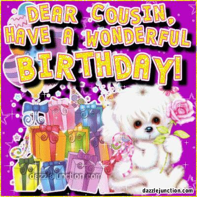 dazzle junction happy birthday  cousin comments images graphics pictures  facebook