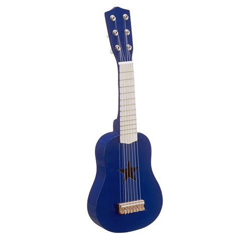 Kalung Pasangan Mini Plat Guitar wooden play guitar blue by mini u accessories ltd notonthehighstreet
