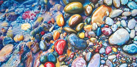 colorful rocks wallpaper not your average drawing of a rock colorful riverbeds