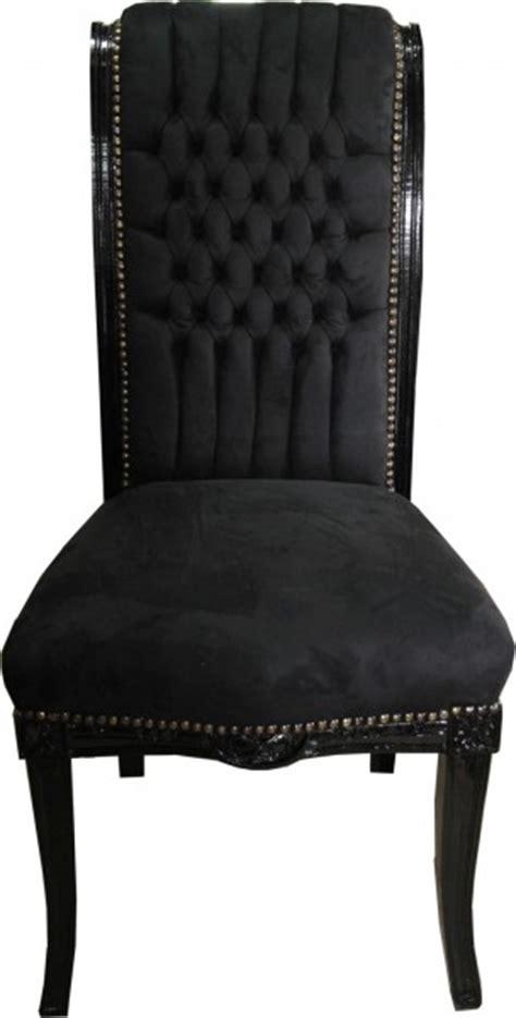 Hängematten Stuhl by Casa Padrino Baroque Chaise Haute Pour Table Arri 232 Re Noir