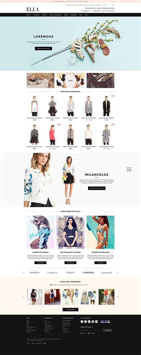 ella responsive 3dcart template released halothemes com