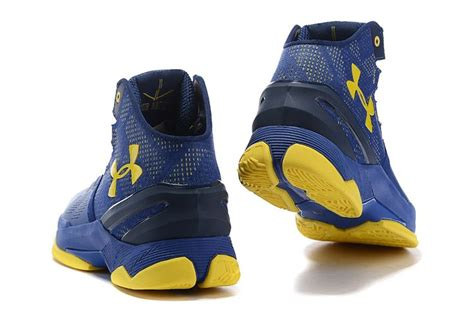 Sepatu Basket Armour Curry 2 0 White Blue Cr Import armour curry 2 dub nation blue yellow cheap sale