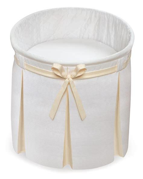 round bassinet bedding empress round baby bassinet white and ecru bedding baby center ameriprod