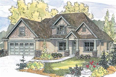 Craftsman House Plans Wilsonville 30 517 Associated Craftsman Style Cape Cod House Plans