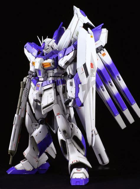 Kaos Gundam Gundam Mobile Suit 16 gundam mg 1 100 hi nu gundam ver ka customized
