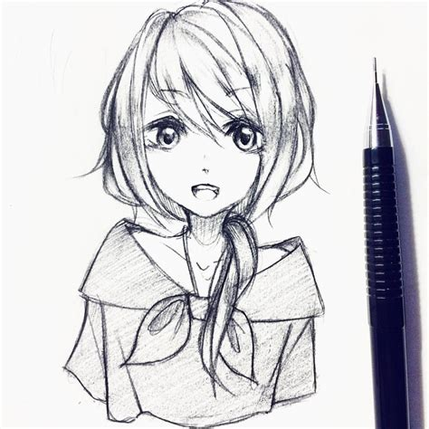 Anime Drawing by How To Draw A Anime Draw Anime Drawings