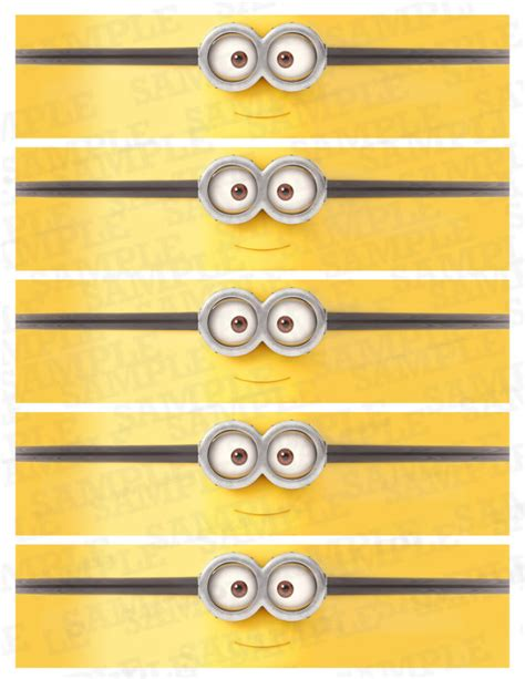 printable stickers minions water bottle labels minions labels minion birthday by