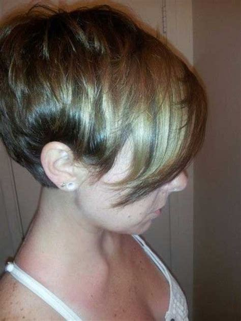 hair cut shorter in front and longer in back 15 short haircut pics for straight hair short