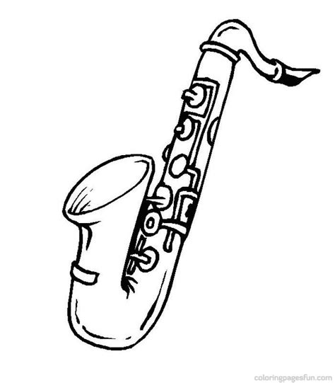 musical instruments coloring pages printable musical instruments coloring pages 51 jazz pinterest