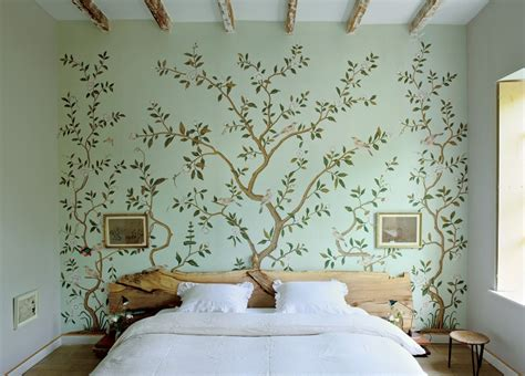 wallpaper on bedroom walls 30 best diy wallpaper designs for bedrooms uk 2015