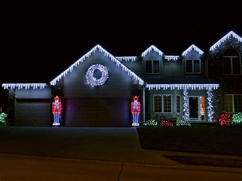 christmas lights on house ideas holiday christmas lighting springfield mo creative