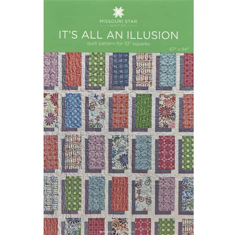 Illusion Quilt Pattern by It S All An Illusion Pattern By Msqc Msqc Msqc