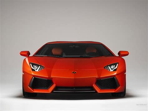lamborghini front view red lamborghini aventador front view wallpaper