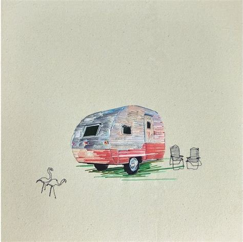 Trailer Homes Interior Needle And Thread Vintage Camper Art