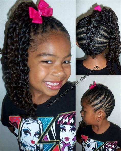 hairstyles for nigerian kids kids hairstyle natural hairstyles pinterest kid