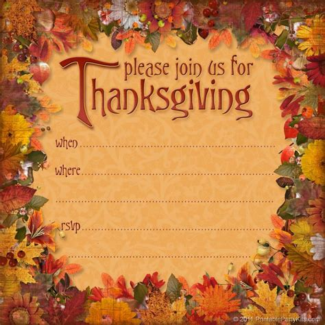 thanksgiving dinner invitation wording sles 31 best invitations images on free printables printables and birthday ideas