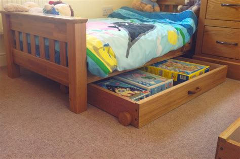 The Bed Drawers On Wheels by Bed Drawers On Wheels Chapman Bespoke Woodwork