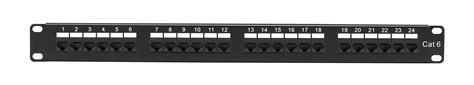 24 cat6 patch panel black box connect cat6 patch panels black box