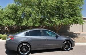 Nissan Altima 2012 Rims Enkei Wheels Lusso Black Machined