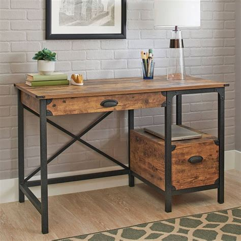 Better Homes And Gardens Office Furniture 1000 Ideas About Rustic Desk On Pinterest Desks Industrial Desk And Wooden Desk