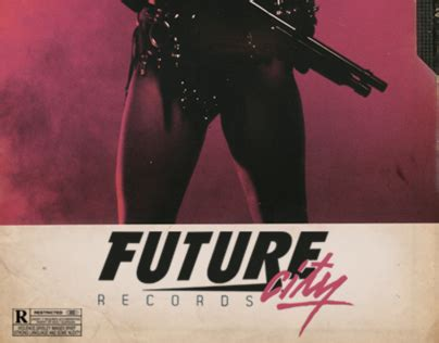 City Records Future City Records Vhs Cover Label Artwork On Behance