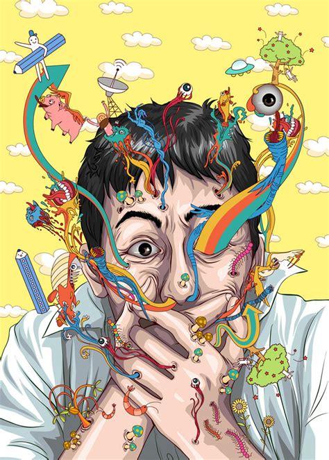 imagenes psicodelicas y surrealistas oops by clocktowerman on deviantart