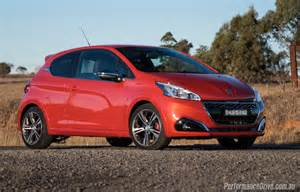Peugeot Gti 2016 Peugeot 208 Gti Review Performancedrive