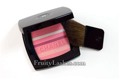 And Color Icon Blush Chagne Blushon Blush On chanel 2012 blush horizon de chanel soft glow blush swatch and review fruity lashes
