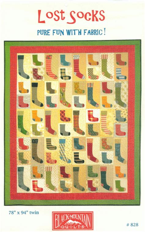 Calico Cottage Quilt Shop by Lost Socks Quilt Pattern Black Mountain Quilts