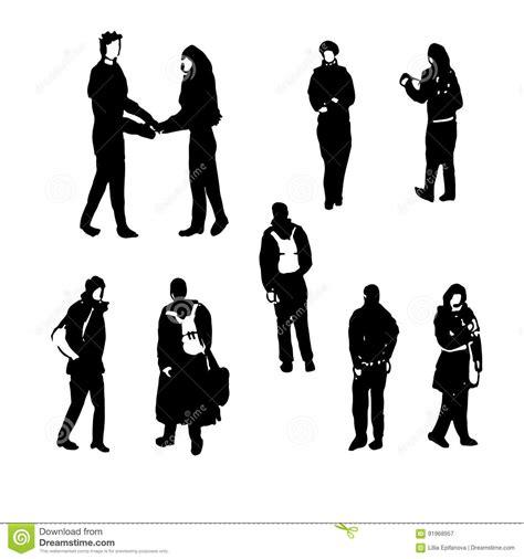 imagenes de figuras humanas egipcias siluetas del dibujo de las figuras humanas ejemplo a mano