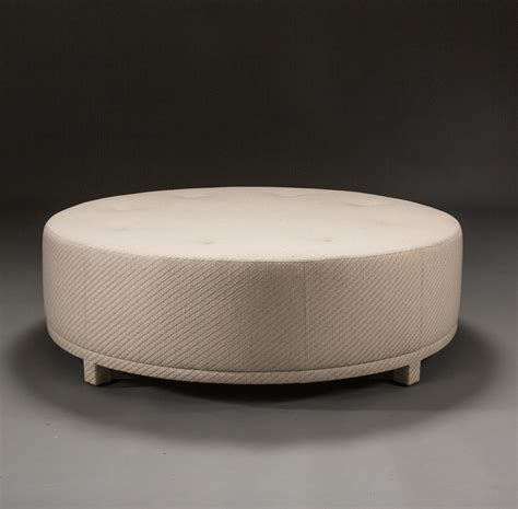 round tufted ottoman with legs round ottoman gallery of convenience concepts round