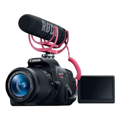 canon t5i dslr canon rebel t5i dslr with 18 55mm creator kit and 55