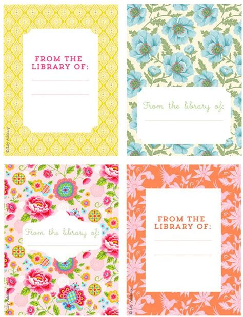 book label templates 14 best bookplate labels book label templates images on