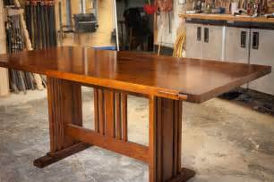 Arts And Crafts Dining Room Table arts and craft dining table by scott parsons