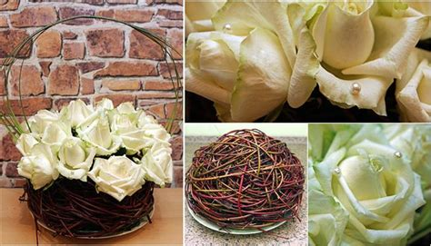 Home And Garden Christmas Decorations by Diy Flower Arrangement Ideas 4 Easy Rose Centerpieces