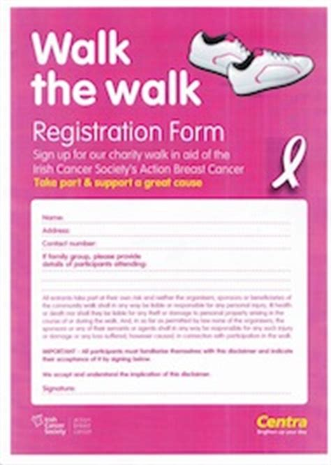 Pin Charity Sponsor Form Template Image Search Results On Pinterest Charity Walk Registration Form Template