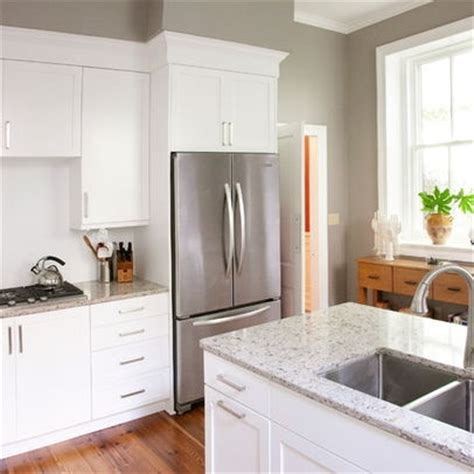 sw7023 requisite gray by sherwin williams kitchen traditional paint colors