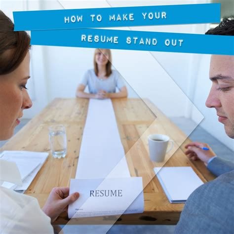 Make Your Resume Stand Out by How To Make Your Resume Stand Out Onward Search
