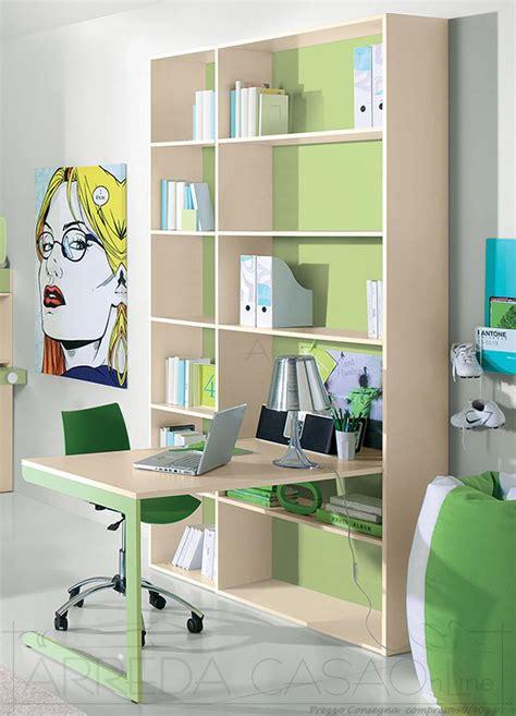 scrivanie con libreria per camerette libreria e scrivania cameretta bambini gt0020lib prezzo